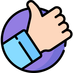 Positive vote icon